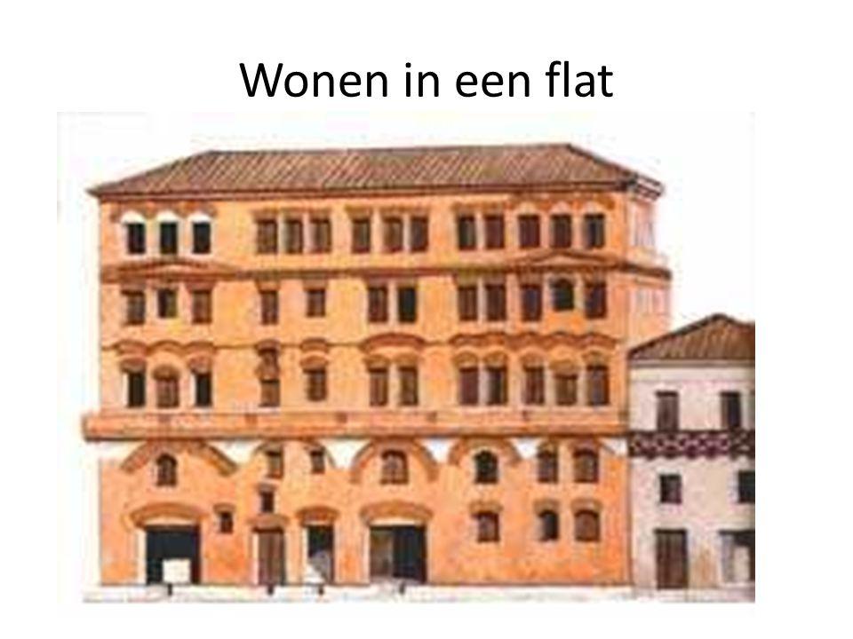 Wonen in een flat