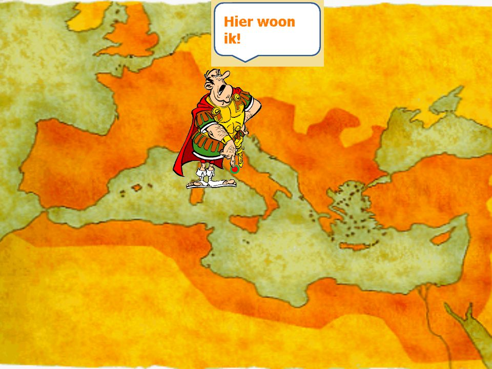 Wie zijn de Romeinen.