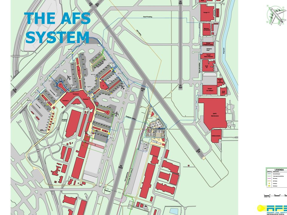 THE AFS SYSTEM LAY-OUT THE AFS SYSTEM