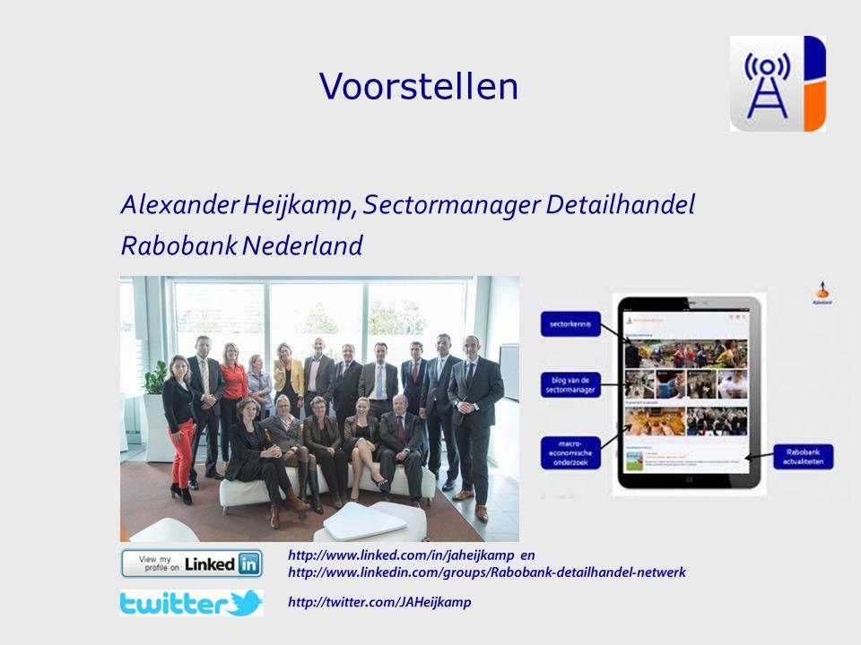 Alexander Heijkamp, Sectormanager Detailhandel Rabobank Nederland Voorstellen