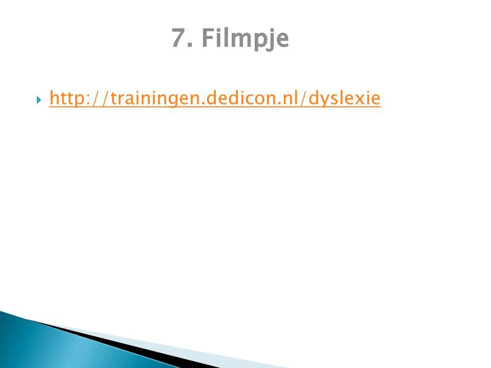  http://trainingen.dedicon.nl/dyslexie http://trainingen.dedicon.nl/dyslexie