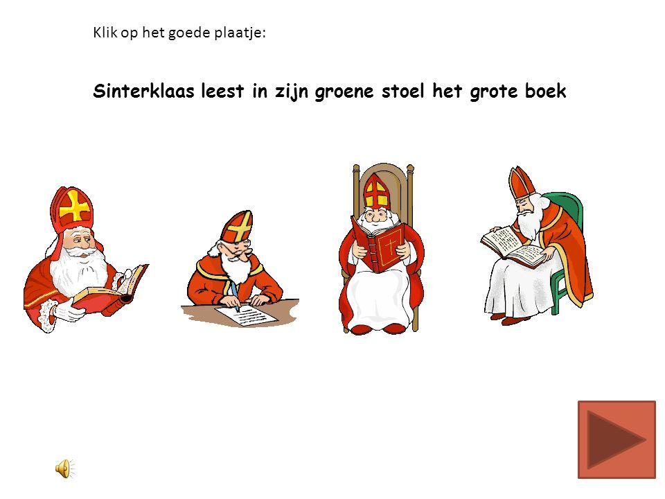 Sinterklaas en Zwarte Piet lopen op straat Klik op het goede plaatje: