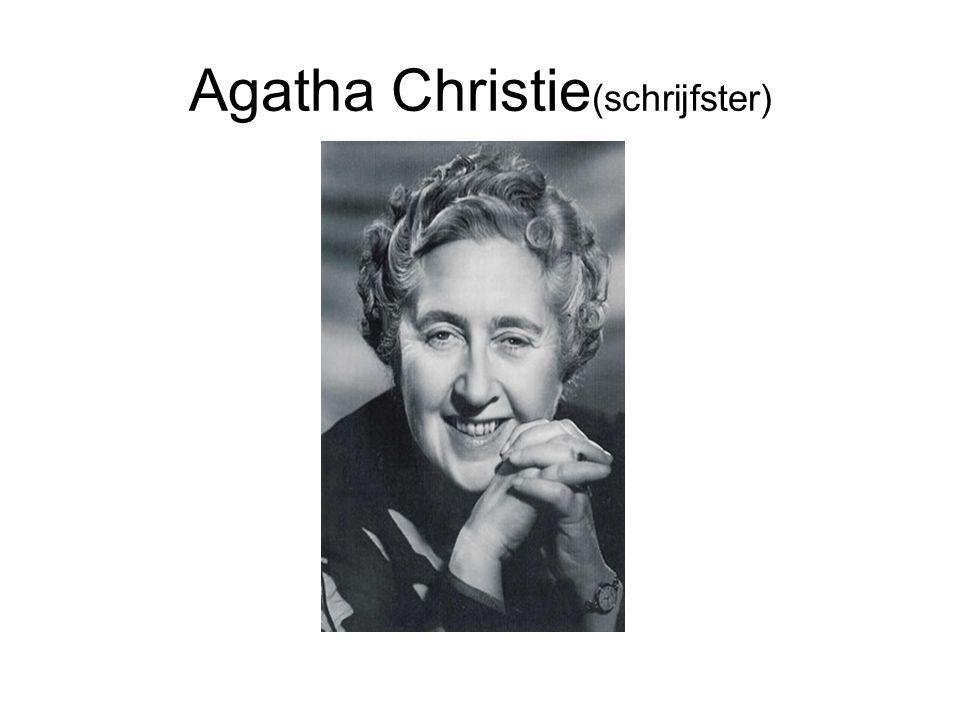 Agatha Christie (schrijfster)