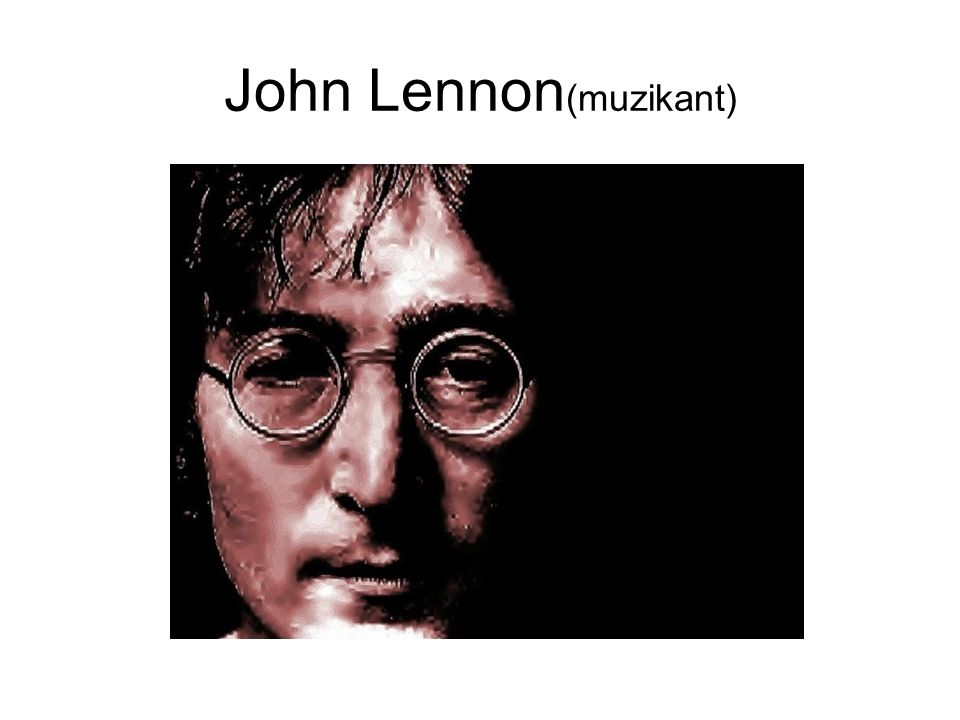 John Lennon (muzikant)