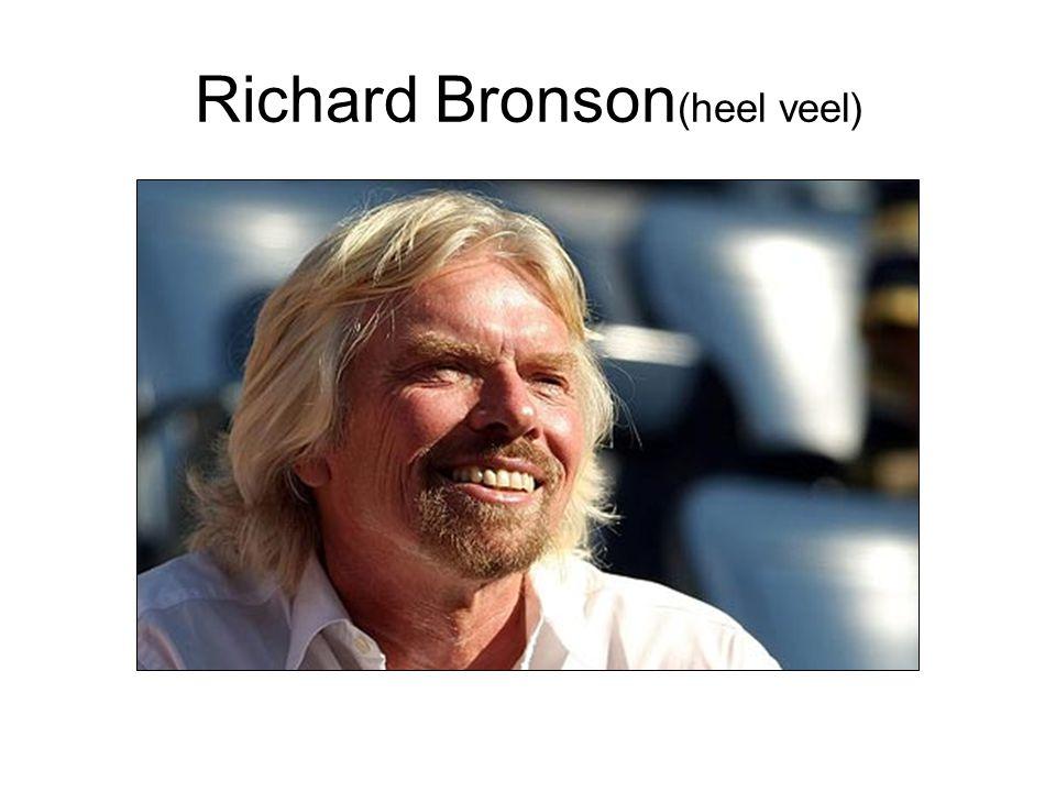 Richard Bronson (heel veel)