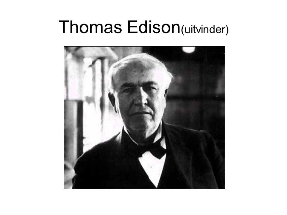 Thomas Edison (uitvinder)