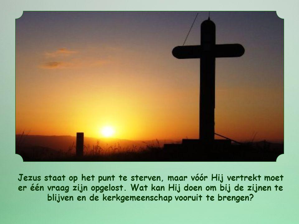 Jezus noemt het gebod van de wederzijdse liefde 'zijn' gebod.
