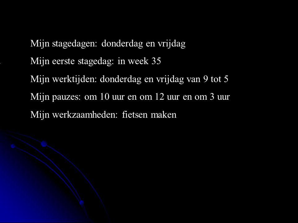 De koekoek is een 2wielerszaak Adres: `reigerbosweg 4 5144ma Plaats:waalwijk **Wat voor bedrijf is het .