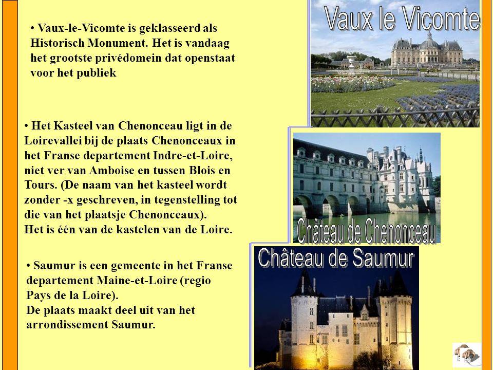 Enkele Kastelen van de Loire Het kasteel van Chambord (Château de Chambord) is een kasteel bij Chambord in het departement Loir-et-Cher, in de Loire-streek in het midden in Frankrijk.
