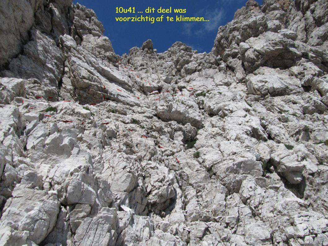 10u41... dit deel was voorzichtig af te klimmen...
