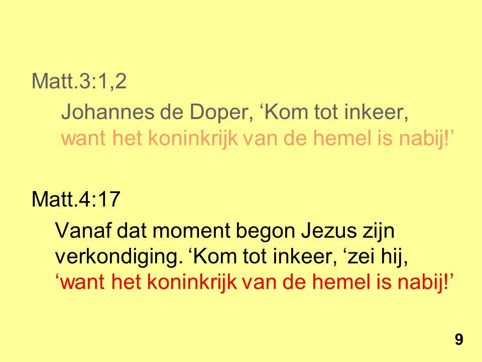 Wat is er veranderd met Jezus' komst.