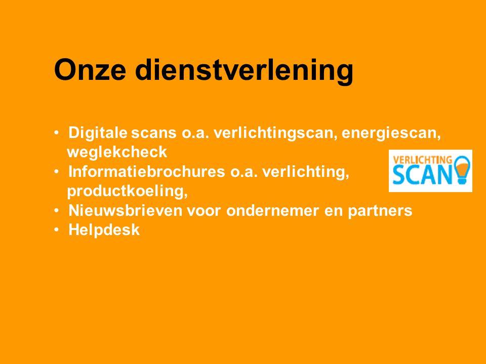 Onze dienstverlening Digitale scans o.a.