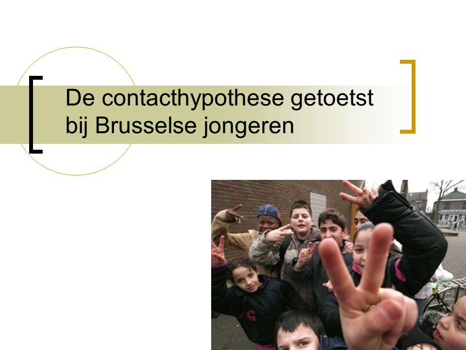 De contacthypothese getoetst bij Brusselse jongeren 9