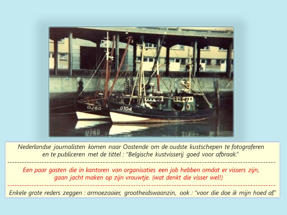 Nederlander op garnaal ; Oostende op achtergrond