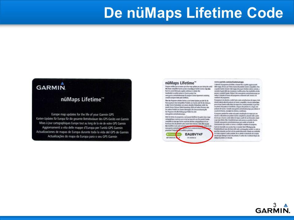 4 De Procedure Ga naar: www.garmin.com/activatenumaps www.garmin.com/activatenumaps De beschrijving in deze handleiding is voor klanten met een myGarmin account.