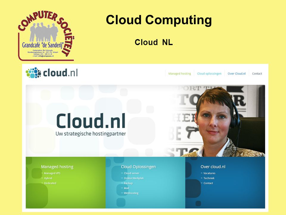 Cloud Computing Cloud NL