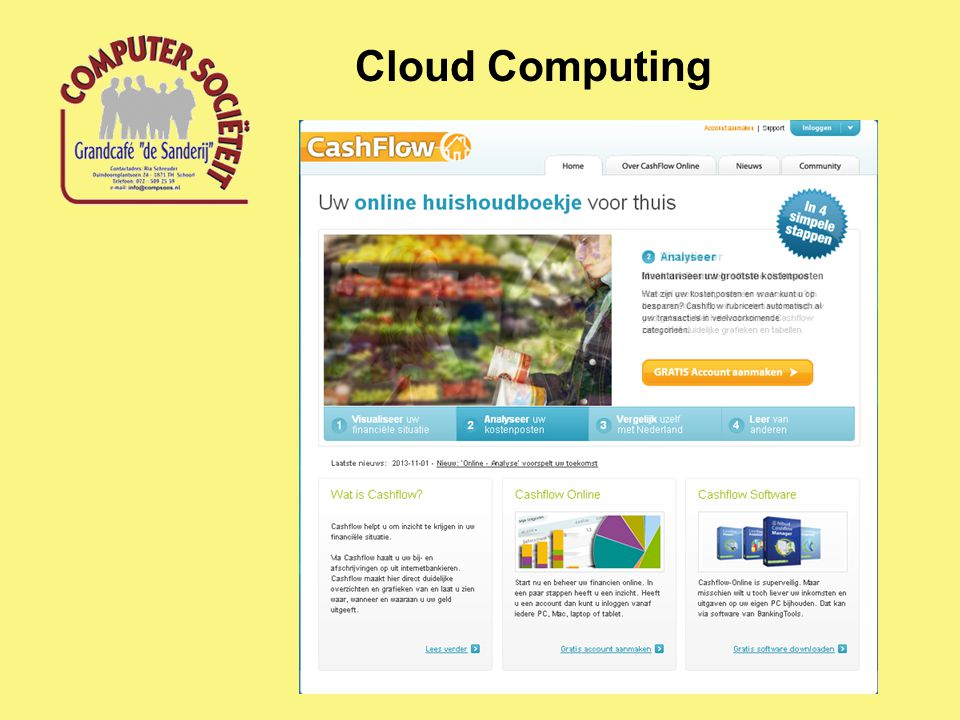 Cloud Computing Cloud Applicaties
