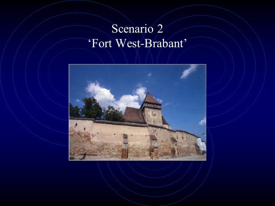 Scenario 2 'Fort West-Brabant'