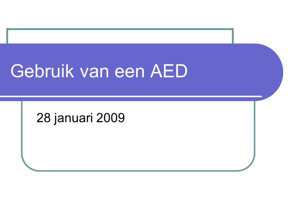 Gebruik van een AED 28 januari 2009