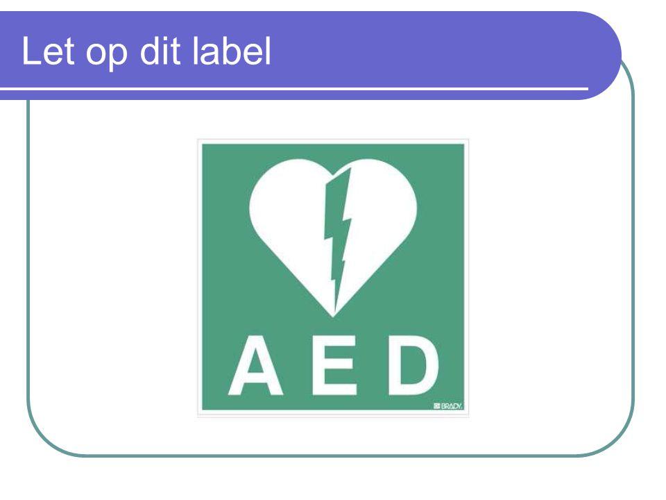 Let op dit label