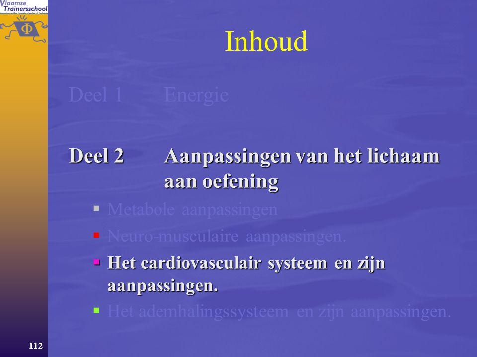 111 Lenigheid is afhankelijk van:  Het uitrekkingsvermogen van het spier- peessysteem.