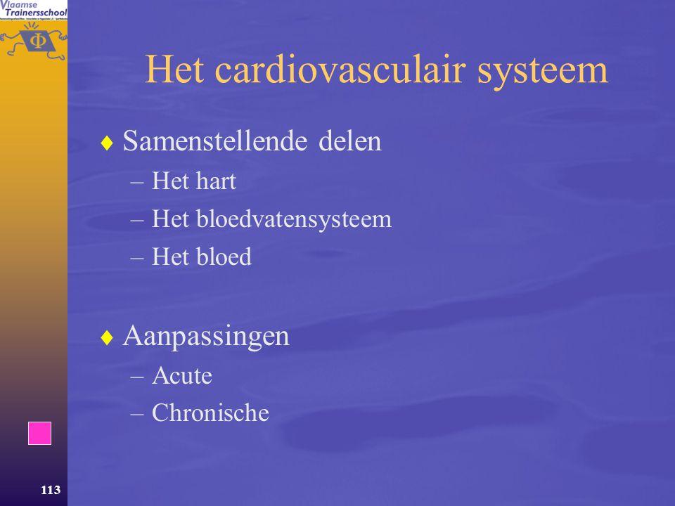 112 Inhoud Deel 1 Energie Deel 2Aanpassingen van het lichaam aan oefening  Metabole aanpassingen  Neuro-musculaire aanpassingen.  Het cardiovascula