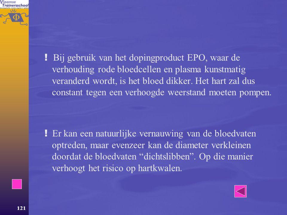 120 Werking  Systolische en Diastolische bloeddruk  Vasoconstrictie en Vasodilatatie  Regeling van de bloedstroom  Elasticiteit van het systeem va