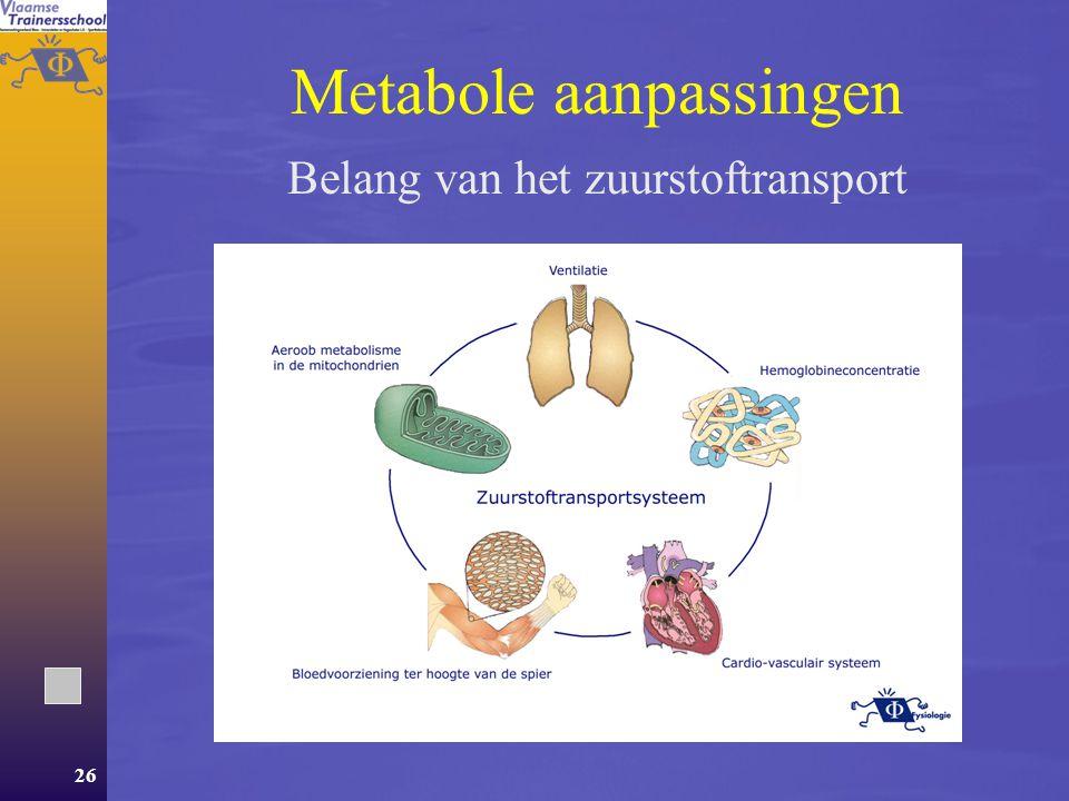 25 Inhoud Deel 1 Energie Deel 2Aanpassingen van het lichaam aan oefening  Metabole aanpassingen  Neuro-musculaire aanpassingen.