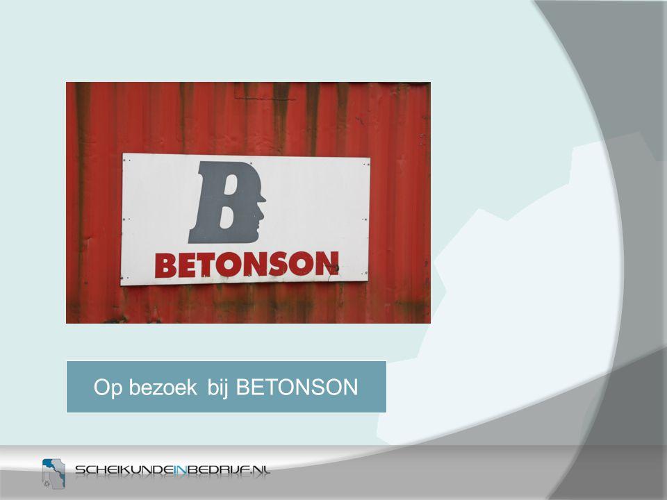 Op bezoek bij BETONSON