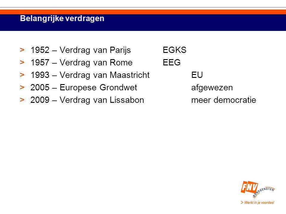 Uitbreidingen >1957 – EEG 6 lidstaten >1973 – EEG 9 lidstaten >1981 – EEG10 lidstaten >1986 – EEG12 lidstaten >1990 – EEG12 lidstaten >1995 – EU15 lidstaten >2004 – EU25 lidstaten >2007 – EU27 lidstaten