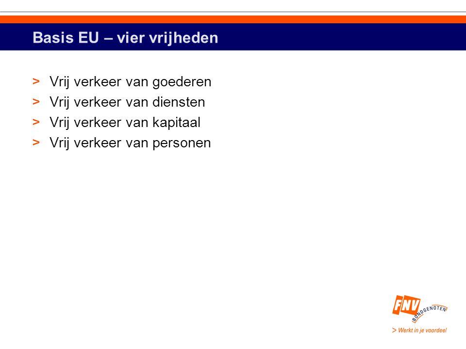 Drie belangrijkste bevoegdheden >Exclusieve; enkel EU kan wetgevend optreden, lidstaten voeren uit >Gedeelde; zowel EU als lidstaten kunnen wetgevend optreden maar EU wetgeving gaat boven nationale >Ondersteunende, coördinerende en aanvullende; lidstaten bepalen, EU ondersteunt