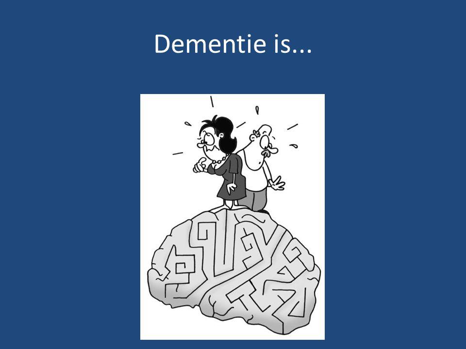 Dementie is...