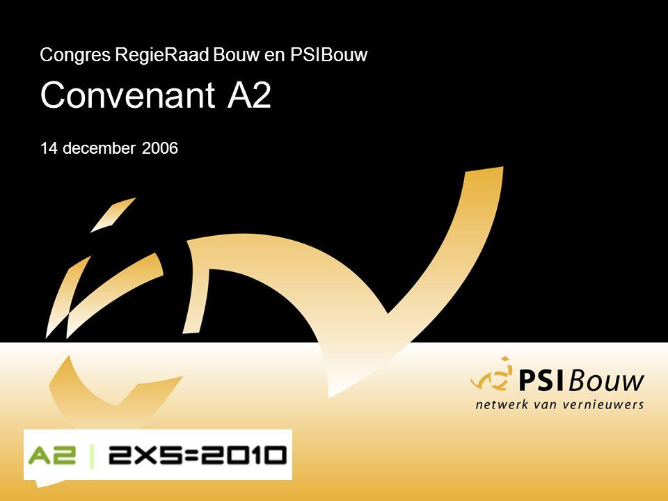 Congres RegieRaad Bouw en PSIBouw Convenant A2 14 december 2006