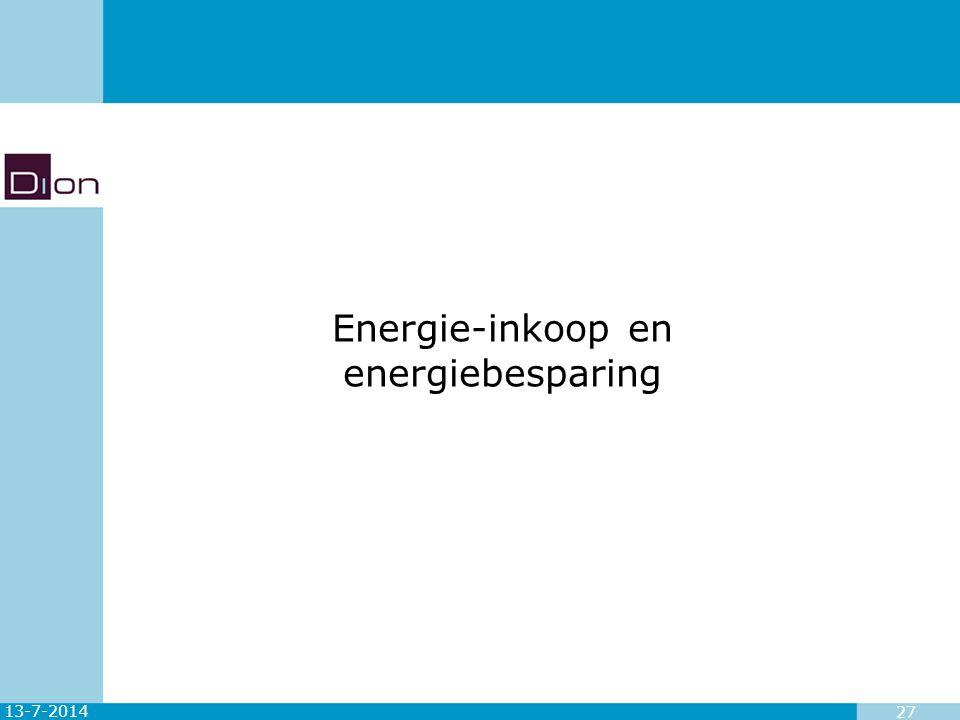 13-7-2014 27 Energie-inkoop en energiebesparing