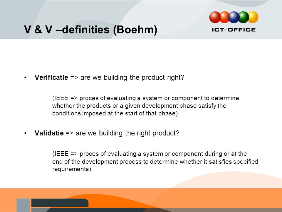 Contractuele levels van commitment 'as-is' leverantie conformance to specification fitness for use fitness for purpose