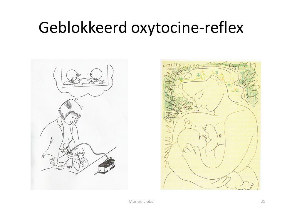 Geblokkeerd oxytocine-reflex 31Manon Liebe