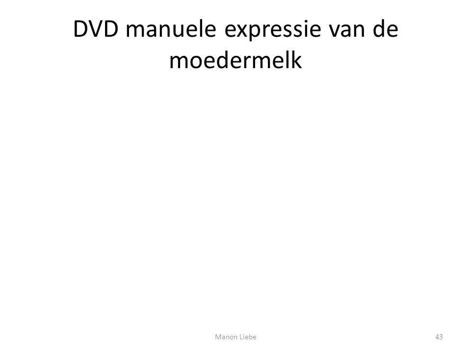 DVD manuele expressie van de moedermelk 43Manon Liebe