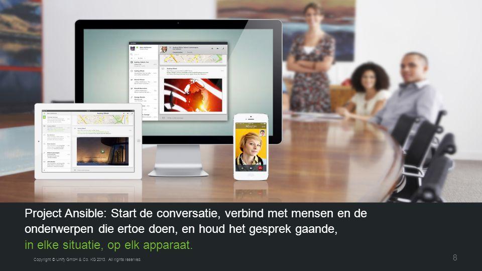 Een grote stap voor ons, Een grote stap voor de industrie Copyright © Unify GmbH & Co.
