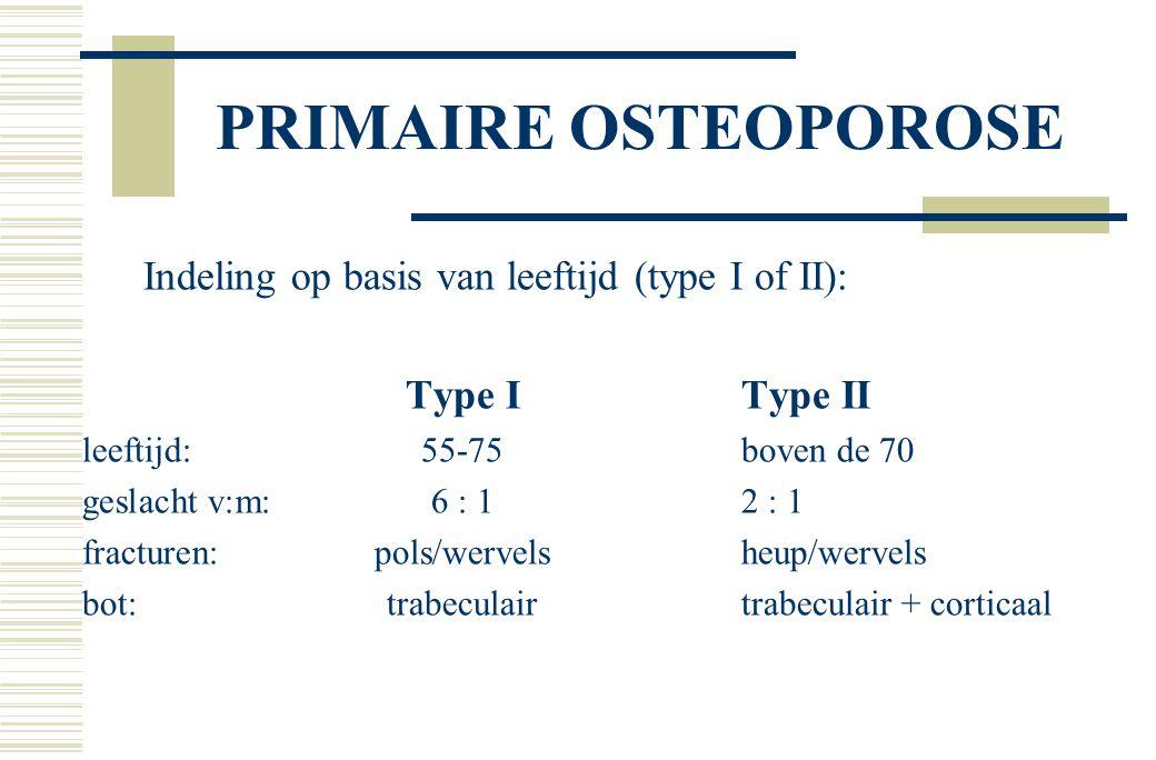 EPIDEMIOLOGIE  studies vooral gebaseerd op BMD en fracturen  verband tussen botmassa, risicofactoren en #  lastig onderscheid osteoporose en andere oorzaken  Engeland: (bevolkingsonderzoek Trent) incidentie alle # mannen na 65 jr.