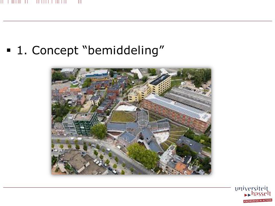  1. Concept bemiddeling
