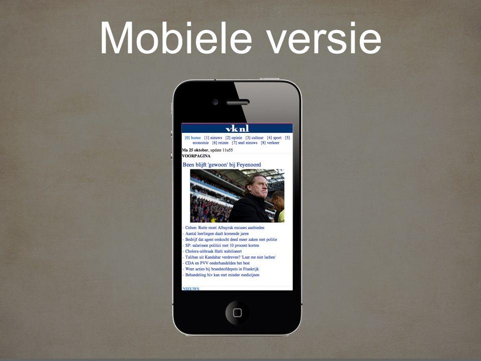 Mobiele versie