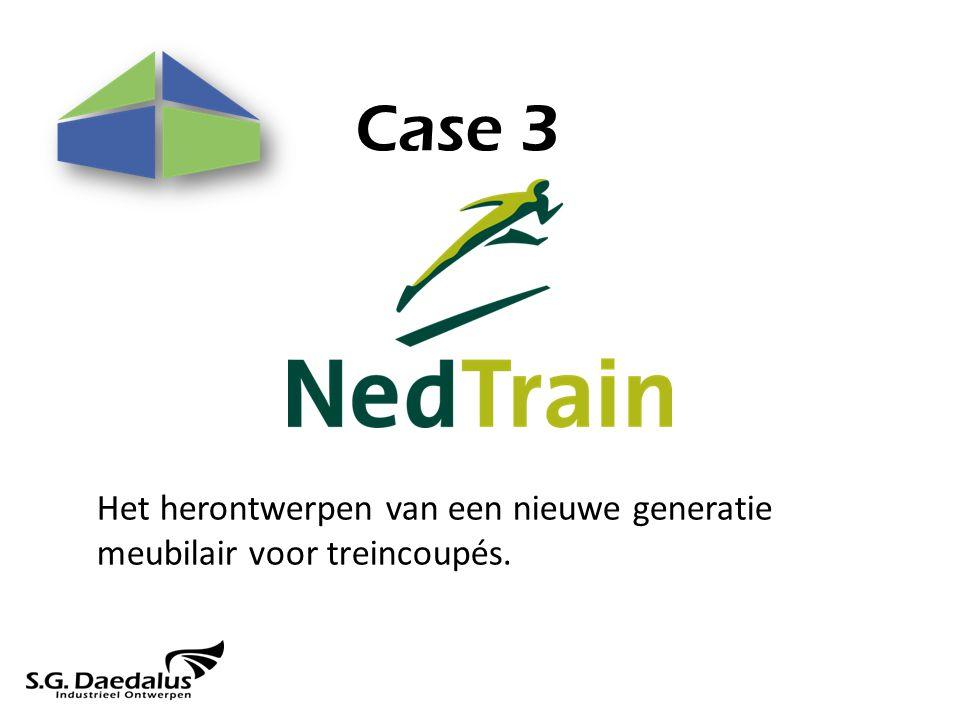 Case 3 Het herontwerpen van een nieuwe generatie meubilair voor treincoupés.
