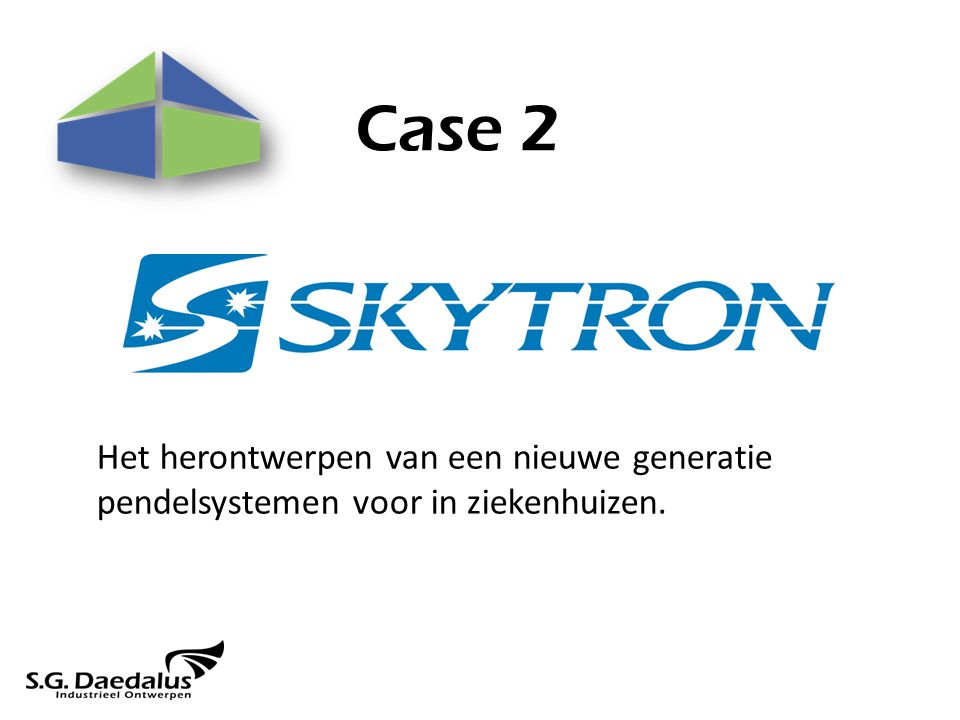 Case 2 Het herontwerpen van een nieuwe generatie pendelsystemen voor in ziekenhuizen.