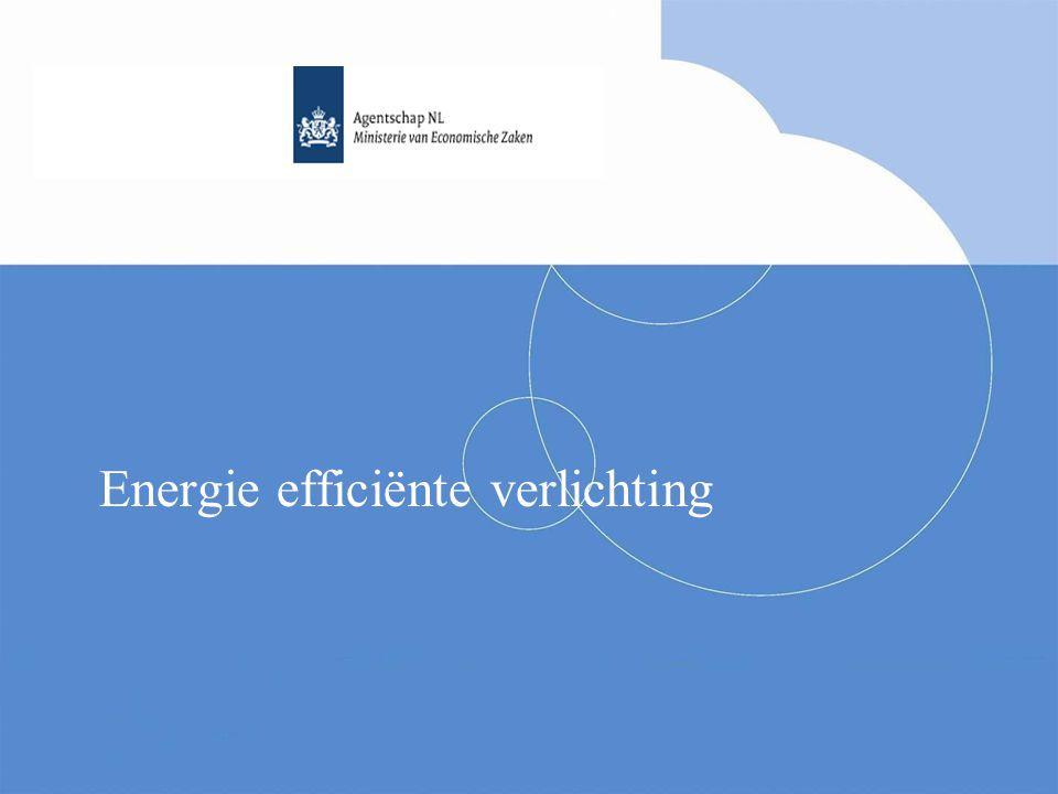Energie efficiënte verlichting