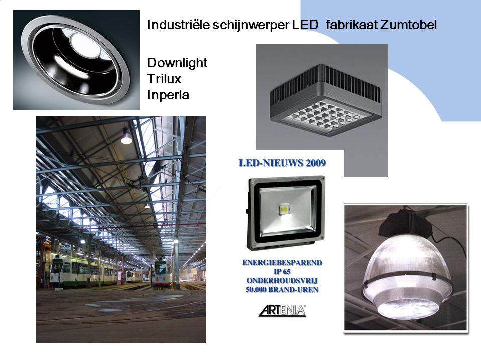 Industriële schijnwerper LED fabrikaat Zumtobel Downlight Trilux Inperla