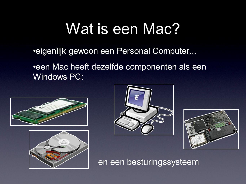 Wat is een Mac. eigenlijk gewoon een Personal Computer...