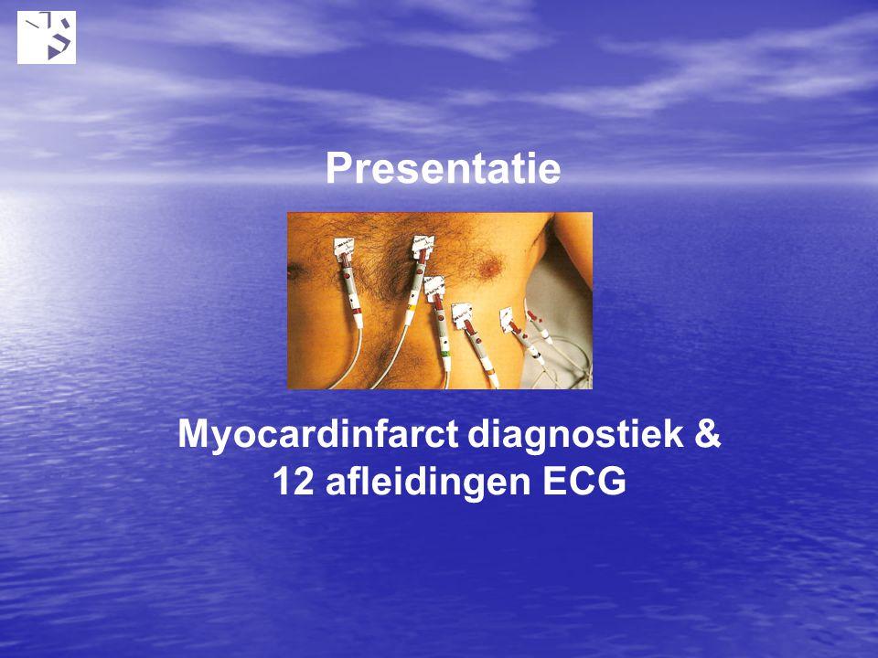 Presentatie Myocardinfarct diagnostiek & 12 afleidingen ECG