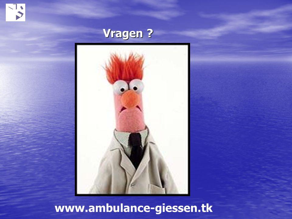 Vragen ? www.ambulance-giessen.tk