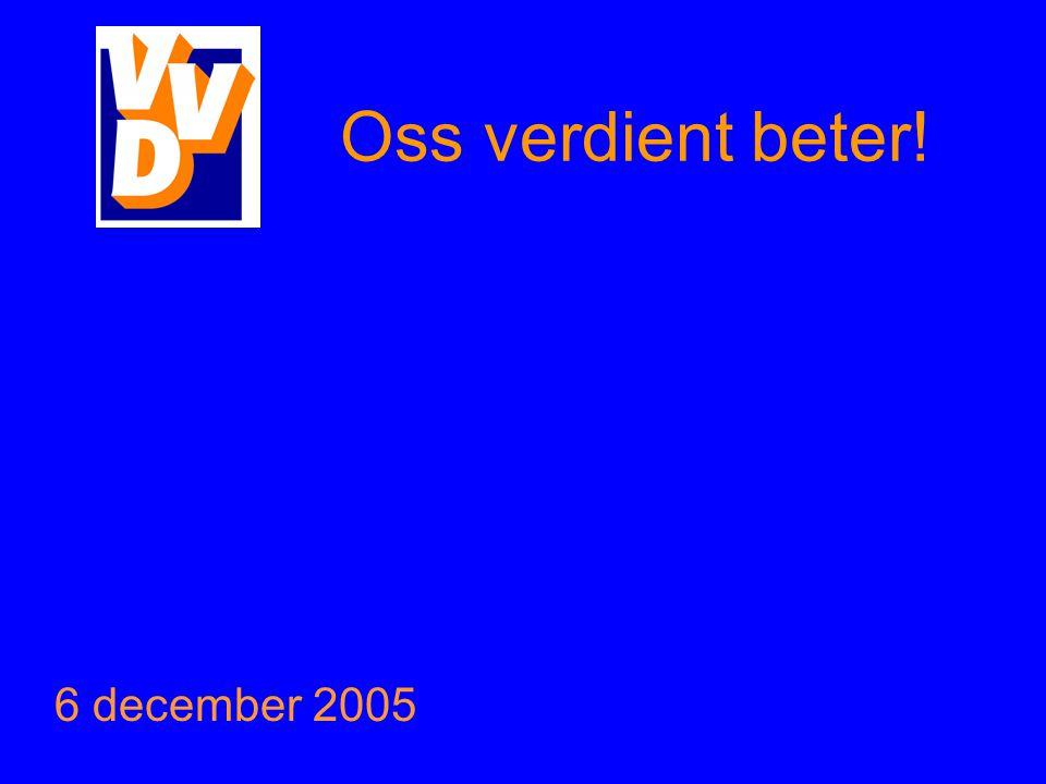 Oss verdient beter! 6 december 2005
