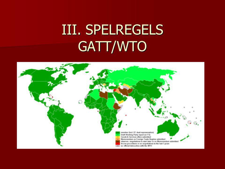 III.SPELREGELS (12) excepties (XX) Art.